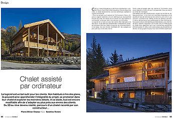 Chalet SIRIUS Le Freyssinet. Construction Lombard Vasina disponible à la location dans la Vallée de Serre Chevalier Hautes Alpes.