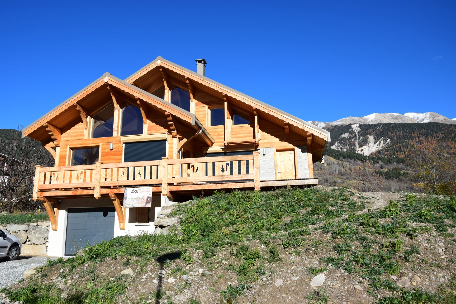 Chalet Lombard Vasina build key in hand in Serre Chevalier Valley